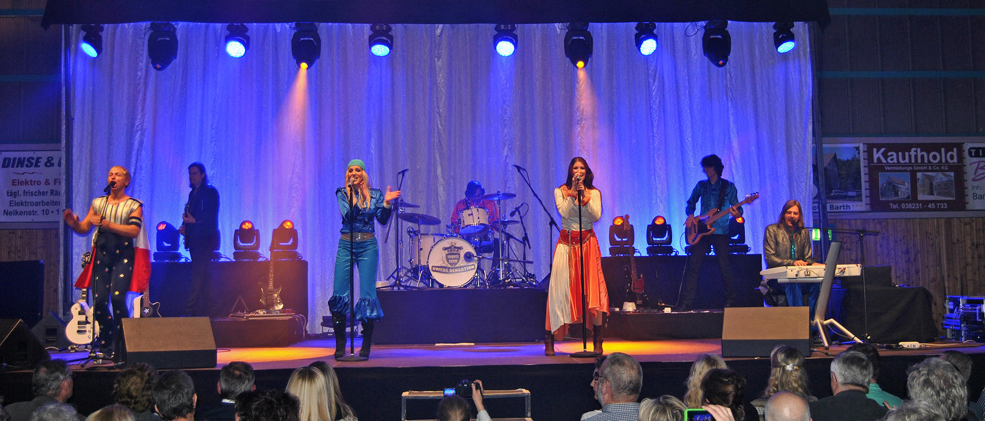 events rückblick ostsee revue 2015 the abba tribute show events in vorpommern