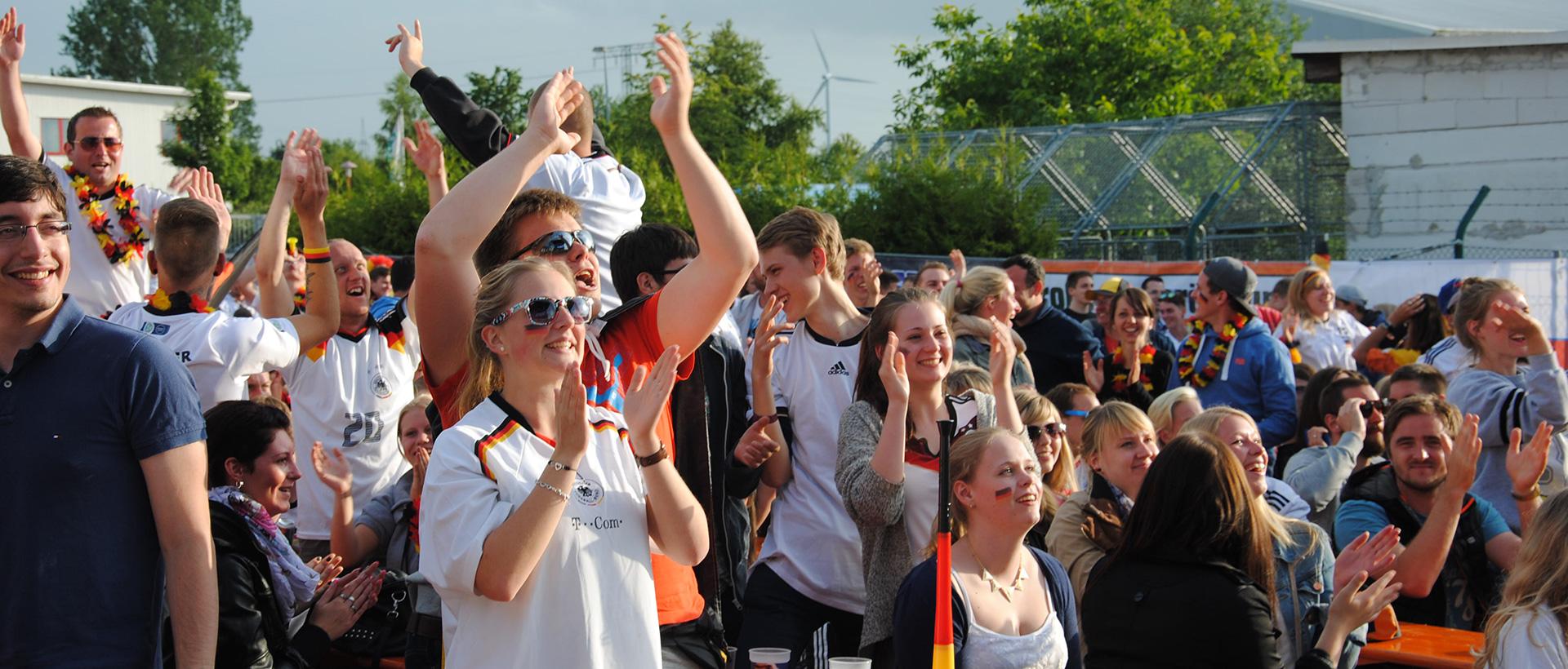 events rückblick WM-Arena 2014 fussball events in vorpommern